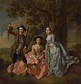 Francis Hayman - George Rogers and His Wife, Margaret, and His Sister, Margaret Rogers - Google Art Project.jpg