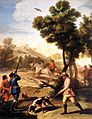 Francisco de Goya y Lucientes - The Quail Shoot - WGA9983.jpg