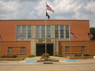 Franklin Parish, Louisiana - Image: Franklin Parish Courthouse in Winnsboro, LA