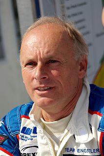 Franz Engstler German auto racing driver