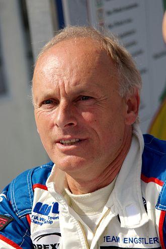 Franz Engstler - Engstler at the 2014 FIA WTCC Race of Belgium.