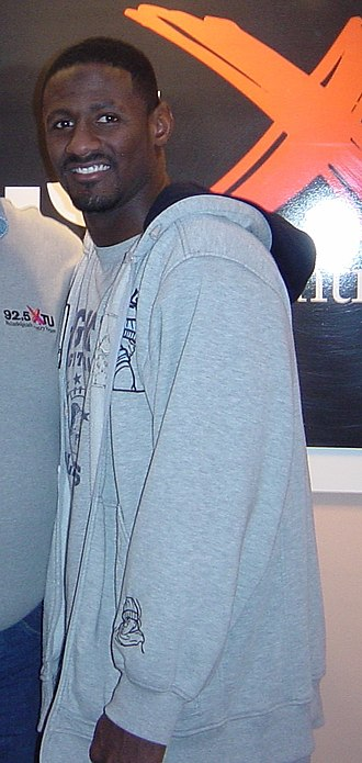 Freddie Mitchell - Mitchell in 2002
