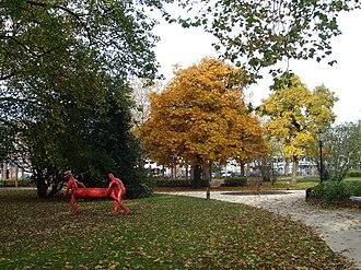 Amsterdam-West - Frederik Hendrikplantsoen park, Frederik Hendrikbuurt.