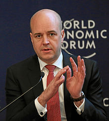 Fredrik Reinfeldt World Economic Forum 2013 crop.jpg