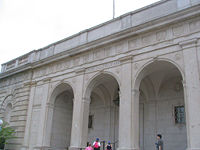 Freer Gallery of Art - desc-front of building closeup - from-DC1.jpg