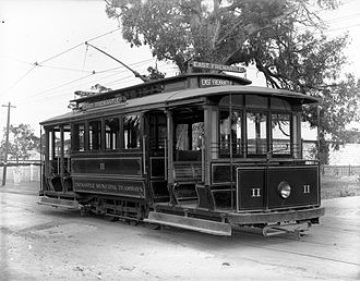 Trams in Fremantle - Tram no 11, 1906