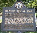 French's Div. At Rome Sign, Floyd County, Georgia.jpg