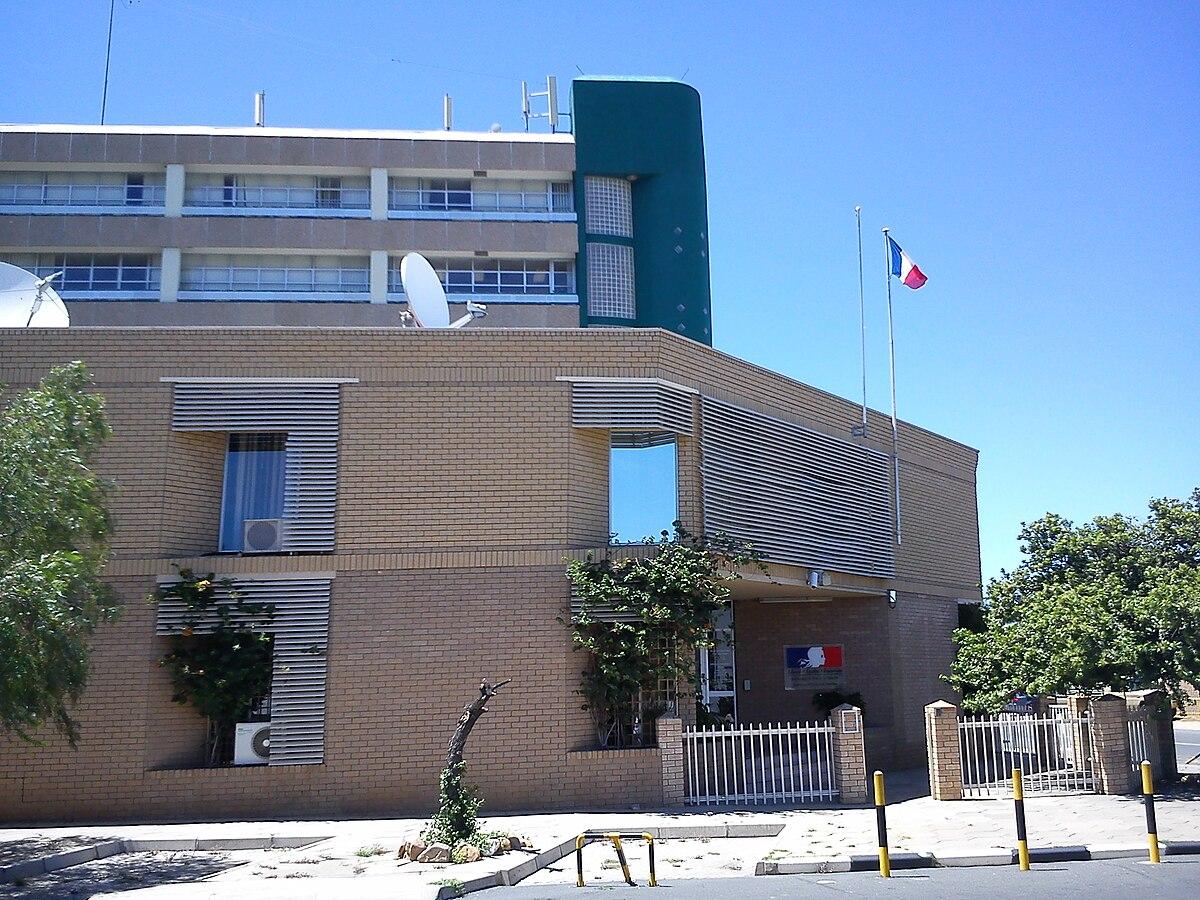 ambassade de france en namibie wikip dia. Black Bedroom Furniture Sets. Home Design Ideas
