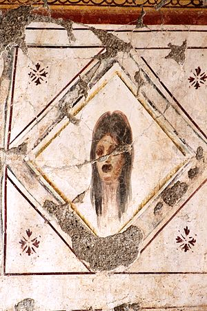 Conservation and restoration of frescos - Fresco in the Terrace Houses in Ephesus (6)