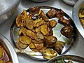 Fried Vegetables - Kojagari Lakshmi Puja Offering - Bengali Brahman Family - Howrah 20171005173232.jpg