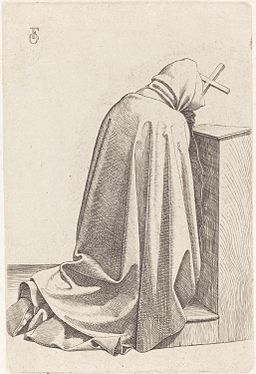 Friedrich Overbeck - Praying Monk
