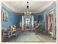Friedrich Wilhelm Klose - The Blue Room, Schloss Fischbach - Google Art Project.jpg