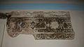 Fris d'algepseries islàmic, museu del castell d'Onda.JPG