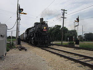 Illinois Railway Museum - Image: Frisco 1630 (5)