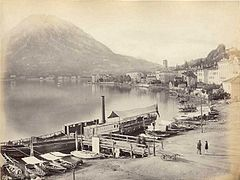 Frith, Francis (1822-1898) - n. 176 - Monte San Salvatore - Lake of Lugano.jpg