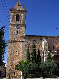 Frontal Iglesia Casas de Ves.JPG