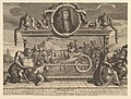 Frontispiece and Its Explanation- Twelve Large Illustrations for Samuel Butler's Hudibras, Plate 1 MET DP824941.jpg