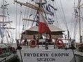 Fryderyk Chopin Flag Lennusadam Tallinn 17 July 2017.jpg
