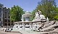 Fuente Wittelsbacher, Lenbachplatz, Múnich, Alemania, 2012-04-30, DD 05.JPG
