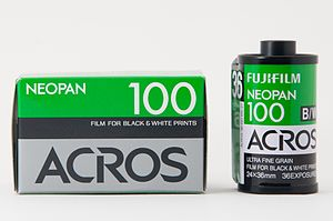 Neopan - The Fujifilm Neopan 100 Acros B/W film 35mm