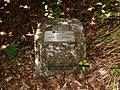 Fundamental Bench Mark, Bowling - geograph.org.uk - 1339826.jpg