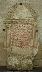 funerary stele of Katagraphos
