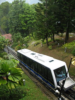 Funicular at Penang Hill.JPG