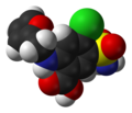 Furosemide-1Z9Y-3D-vdW.png