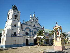 Santa Catalina Parish Church (Arayat) - Facade of the Saint Catherine of Alexandria Church in Arayat, Pampanga
