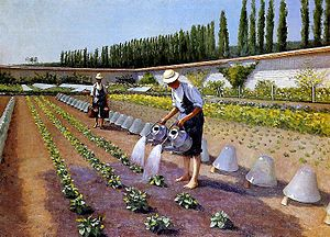 1875 in art - Image: G. Caillebotte Les jardiniers