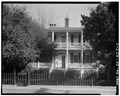 GENERAL VIEW; SOUTH (FRONT) ELEVATION - Louis Cuthbert House, 915 Port Republic Street, Beaufort, Beaufort County, SC HABS SC,7-BEAUF,31-1.tif