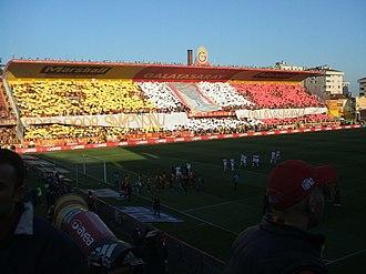 Ali Sami Yen Stadium - Image: GS 1 0 GOF Türkcell Süperlig 10052008