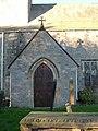 Gainford church porch - geograph.org.uk - 256116.jpg