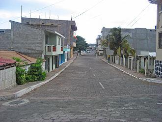 Puerto Baquerizo Moreno - Street scene