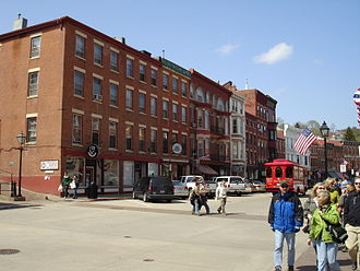 Galena Historic District - The commercial buildings of Main Street present an unusual architectural harmony.