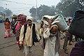 Gangasagar Pilgrims - Babu Ghat Area - Kolkata 2018-01-14 6492.JPG