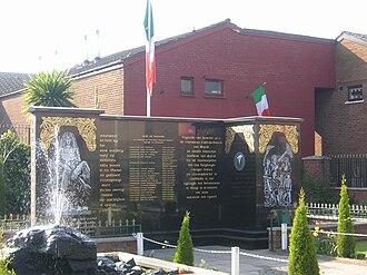 Provisional IRA Belfast Brigade - Provisional IRA memorial in Belfast