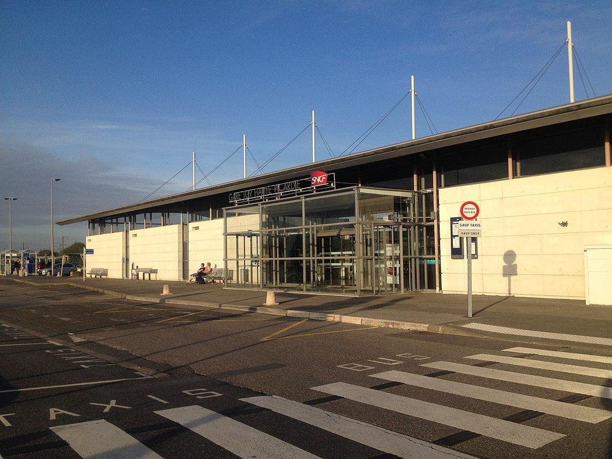 Gare tgv haute picardie wikip dia for Garage de la gare bretigny