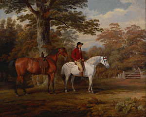 George Garrard - Hunter and Huntsman, 1785, Indianapolis Museum of Art