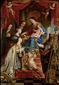 Gaspar de Crayer - Virgin with child and saints Maria Magdalen, Cecilia, Dorothea, Catharina and Augustine.jpg