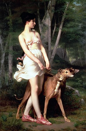Gaston Casimir Saint-Pierre - Diana the Huntress.jpg