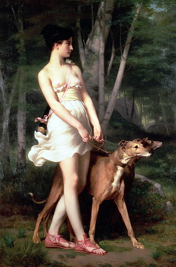 592px-Gaston_Casimir_Saint-Pierre_-_Diana_the_Huntress.jpg