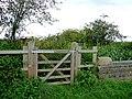 Gate by Longford Lock, near Penkridge - geograph.org.uk - 1198180.jpg