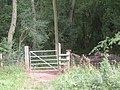 Gate on the Jack Mytton Way as it enters Londonderry Coppice - geograph.org.uk - 891977.jpg
