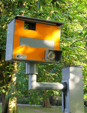 Traffic enforcement camera - Gatso speed camera