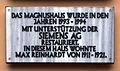 Gedenktafel Am Kupfergraben 7 (Mitte) Magnus Haus.jpg