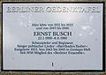 Gedenktafel Bonner Str 11 (Wilmd) Ernst Busch.JPG