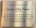 Gedenktafel Schlüterstr 49 (Charl) Gustav Felix Flatow.jpg