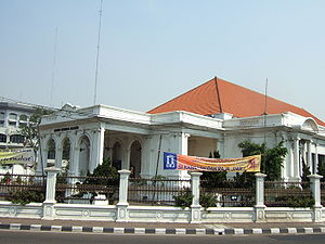 Cultural properties of Indonesia - The Jakarta Art Building, one of numerous objects in Jakarta