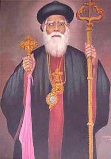 Geevarghese Dionysius of Vattasseril Indian Christian saint and Malankara Metropolitan